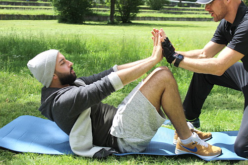 Personal Training Frankfurt in Parks und an anderen spannenden Orten.