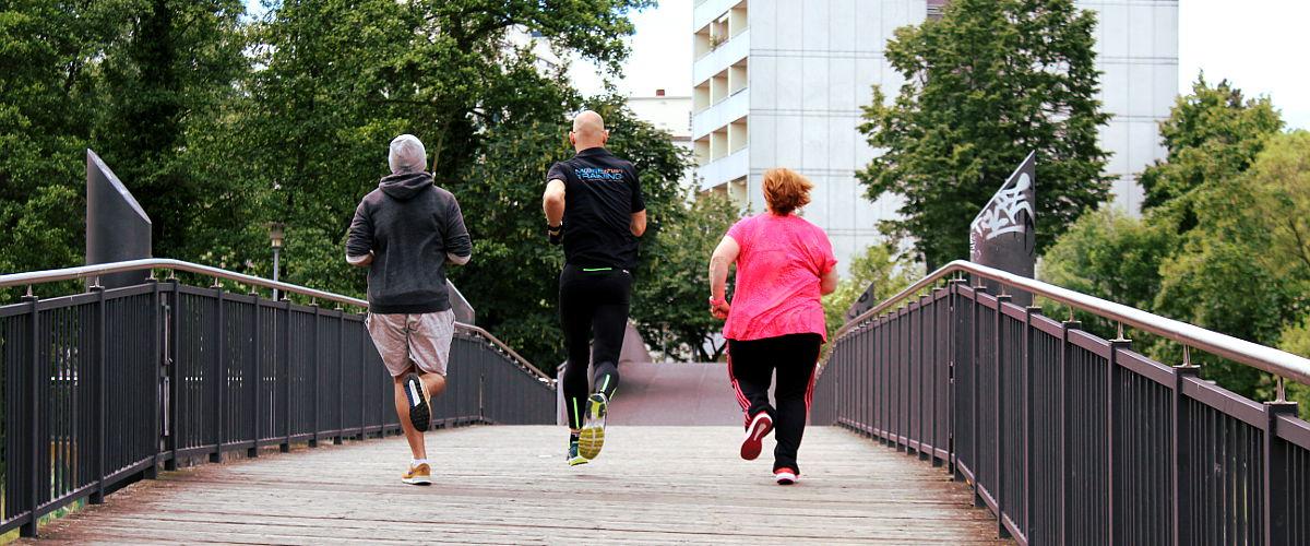 Personal Fitness Training an frischer Luft
